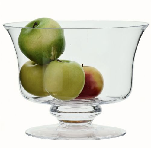 Footed Trifle Bowl Viola 22cm